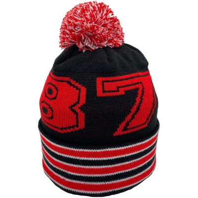 1878 Black Bobble Hat