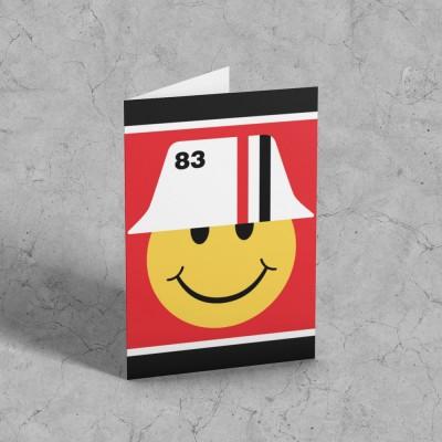 1983 Smiley Greetings Card