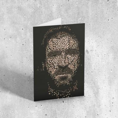Cantona Greetings Card