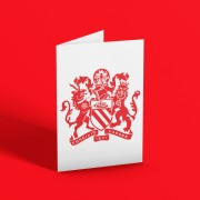 Manchester Coat of Arms Greetings Card T-Shirt