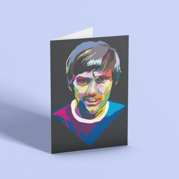 Best Colour Block Greetings Card