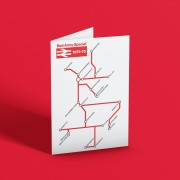Red Army British Rail Special Greetings Card
