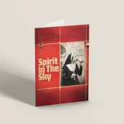 Spirit In The Sky Greetings Card T-Shirt