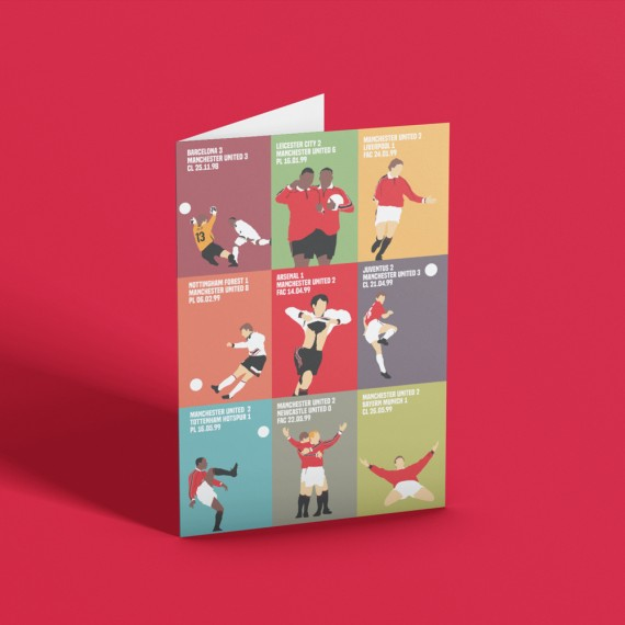 """The Treble """"9 Moments"""" Greetings Card"""