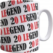 20 Legend Pattern Mug