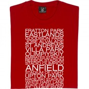 2007-08 Season Away Grounds T-Shirt
