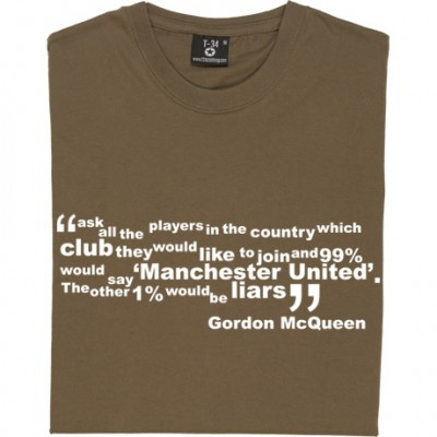 "Gordon McQueen ""99 Percent"" Quote"