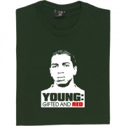 "Ashley Young: ""Young: Gifted and Red"" T-Shirt"