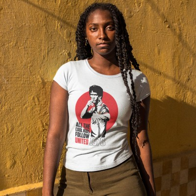 "Bruce Lee ""All The Cool Kids Follow United"" T-Shirt"