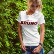 Bruno Bruno Bruno (Red, White and Black) T-Shirt