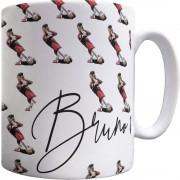 Bruno Fernandes Celebration Pattern Mug