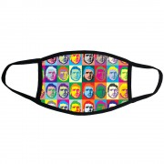 Eric Cantona: Andy Warhol Style Face Mask