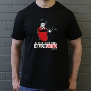"Taxi Driver ""All The Cool Kids Follow United"" T-Shirt"