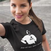 Dieu Est Mon Avant Centre T-Shirt