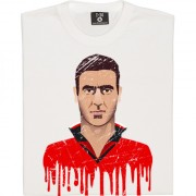 Eric Cantona Graphic Portrait T-Shirt