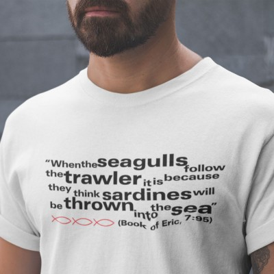 Eric Cantona Seagulls and Sardines Quote