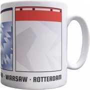 European Cup Winners' Cup Swatches Ceramic Mug