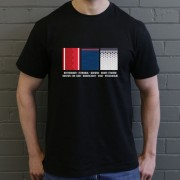 Europa League 2017 Swatches T-Shirt