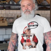 Father Christmas Is A Red T-Shirt
