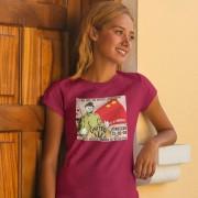 Sir Alex Ferguson Soviet Poster Moscow 2008 T-Shirt