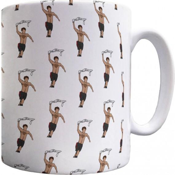 Giggs Celebration Sketch Pattern Mug