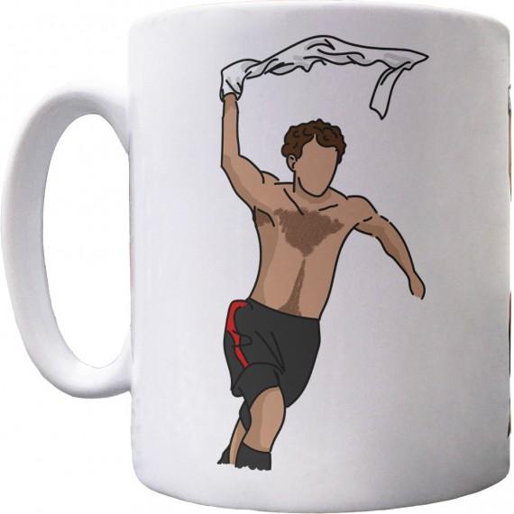 Giggs Celebration Sketch Ceramic Mug