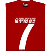 Give The Ball To George Best T-Shirt
