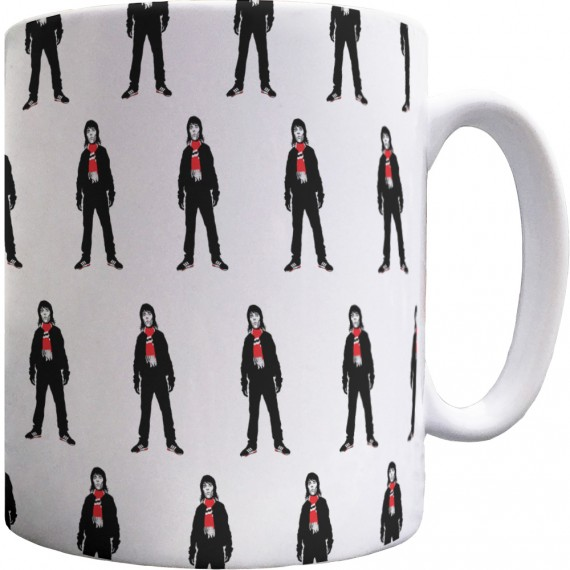 Ian Brown Bar Scarf Pattern Mug