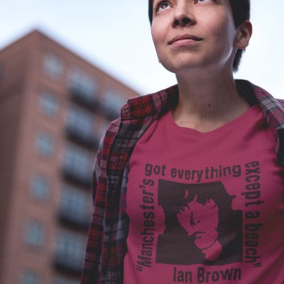 "Ian Brown ""Everything Except A Beach"" T-Shirt"