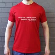 "Jose Mourinho ""If I Have A Lot To Prove..."" T-Shirt"