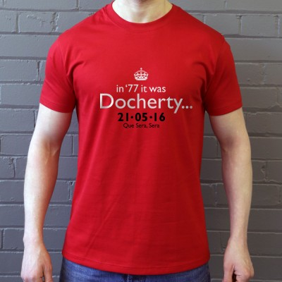 In '77 It Was Docherty Manchester United FA Cup Final 2016