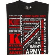 K Stand Barmy Army T-Shirt