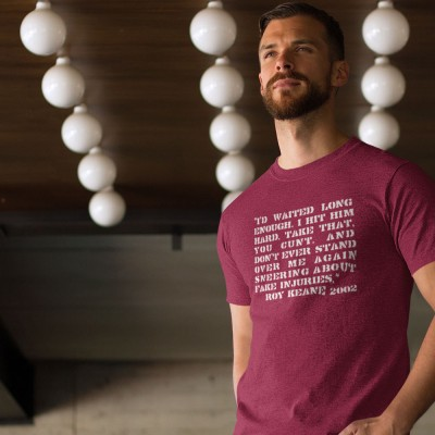 "Roy Keane ""Alfie Haaland"" Quote T-Shirt"