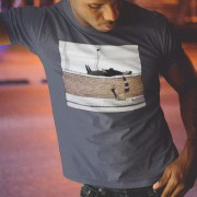 "LS Lowry ""Man Lying On A Wall (With Bar Scarf)"" T-Shirt"