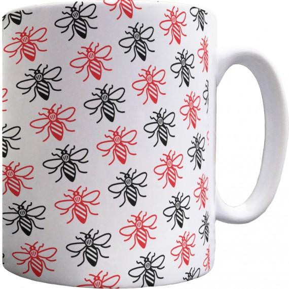 Manchester Bee Pattern Mug