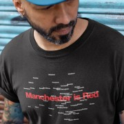 Manchester Is Red Districts T-Shirt