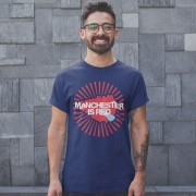 Manchester Is Red Map T-Shirt