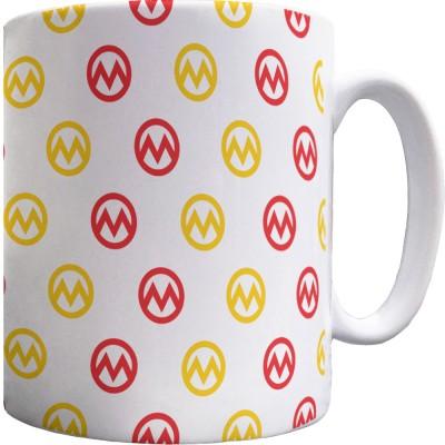 Manchester M Pattern Mug