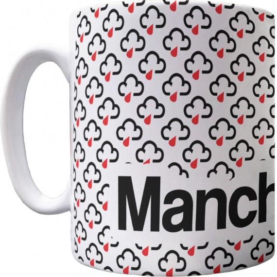 Manchester Rain Pattern Mug