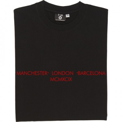 Manchester - London - Barcelona