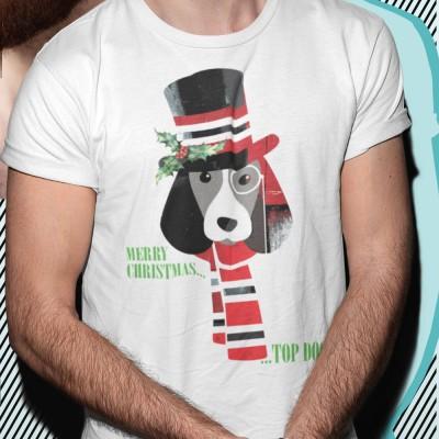 Merry Christmas Top Dog