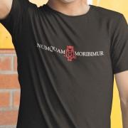 """Numquam Moribimur """"Never Die"""" Devil T-Shirt"""