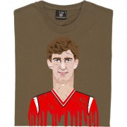 Norman Whiteside Graphic Portrait T-Shirt