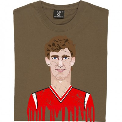 Norman Whiteside Graphic Portrait
