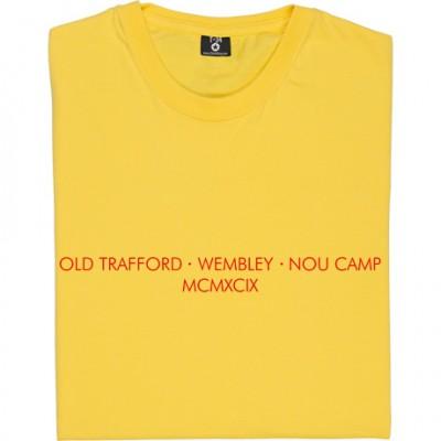 Old Trafford - Wembley - Nou Camp T-Shirt