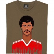 Paul McGrath Graphic Portrait T-Shirt