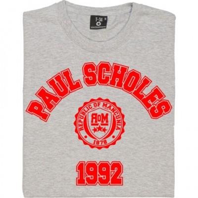 Paul Scholes 1992 T-Shirt
