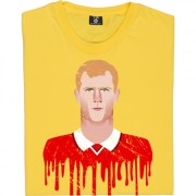 Paul Scholes Graphic Portrait T-Shirt