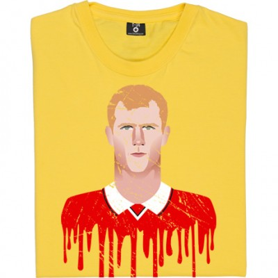 Paul Scholes Graphic Portrait