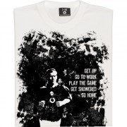 Paul Scholes: Play The Game (Distressed) T-Shirt